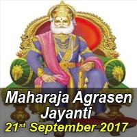 Maharaja Agrasen Jayanti